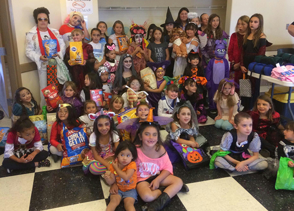Girl Scouts Halloween Party 2017