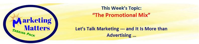 promotional mix header marketing matters gcb 7 14 17