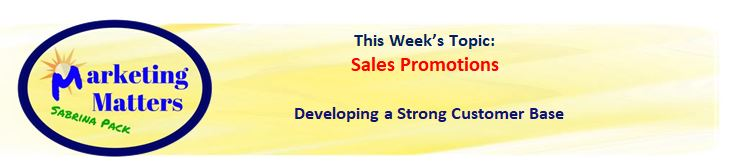 marketing matters header 3 30 18 sales promotions