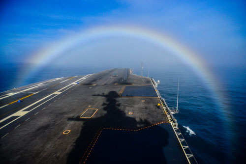 rainbow us navy uss john c. stennis mass communication specialist 3rd class ignacio d. perez february 3 2015 flickr
