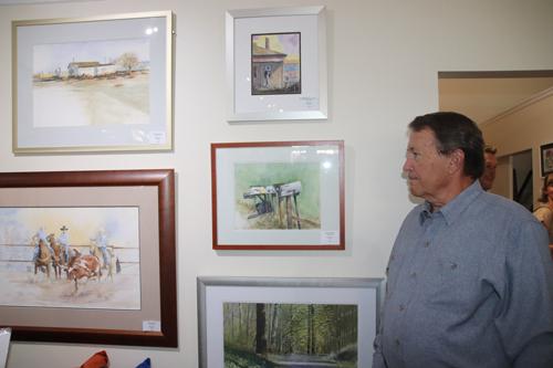 Aldea Gallery opening 080621