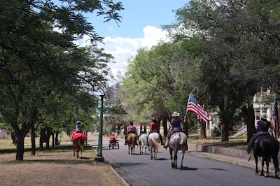 Horse Parade at Fort Bayard 070421