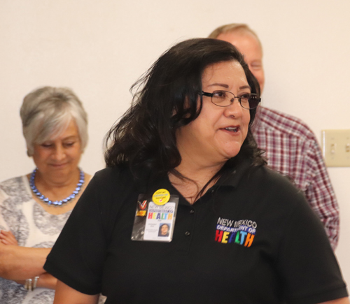 Margaret Diaz receives T-Mobile Spotlight Award 062521