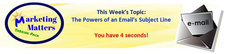 email subject line marketing matters header