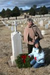 Wreaths Across America at Fort Bayard National Cemetery 2012
