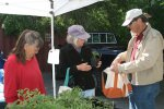 First Day of 2013 Farmers' Market Season