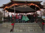Kiwanis Gazebo Lighting & Holiday Sing-Off
