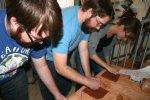 Tile making at L&I Arts