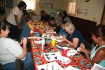 Silver City Museum Mimbres Tile Craft July 11 2014