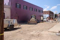 100 block of Market Street under construction