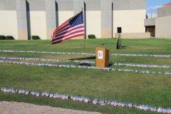 9-11 ceremony at WNMU 091117
