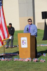 9-11 ceremony at WNMU 091117