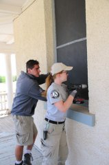 Update on Americorps team at Fort Bayard 051817