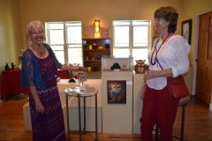 Barbara Nance featured artist at Bear Mountain Lodge Art Gallery