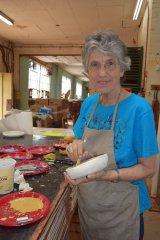 Bowl Glazing Workshop for Empty Bowls Community Dinner
