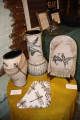 Clay Festival a Tile and a Vessel juried show