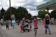 Monsoon Puppet Parade During Gila River Extravaganza