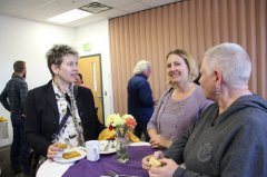 WNMU hosts reception for new SCACD executive director 101117