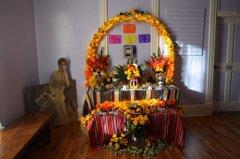 Ofrenda procession for Dias de los Muertos 110217