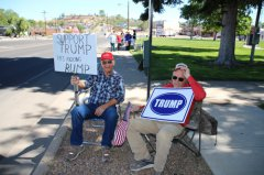 Pro-Trump rally held 052017