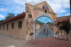 Santa Clara mural