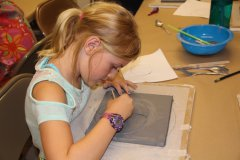 Youth  CLAYPlay at Silver City Public Library 072517
