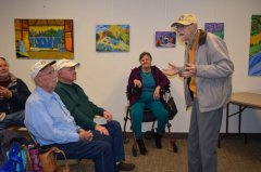 Silver City Library God's Umbrella book signing 120418