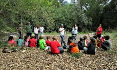 Mimbres Cultural Heritage Site hosts San Lorenzo students 090718