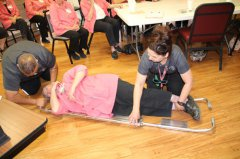 GRMC Auxiliary sees demonstration of EMS equipment 041118