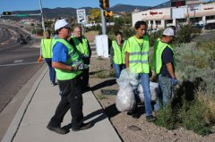 Kiwanis clubs take part in Pick it up 102718