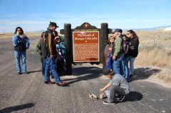 Mangas Coloradas highway monument blessed 111718