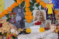 All Soul's Day ofrenda procession 110218