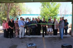 PNM and Silver City charging station dedicated 042518