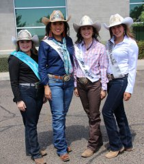 1st NM Bank rodeo royalty and appreciation day 061418