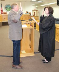 Silver City swears in officials 2018