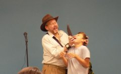 Indiana Bones at SC Public Library 2018 Summer Reading Program