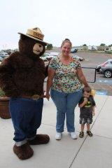 Smokey Bear has a 74th birthday party 080918