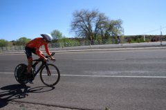 Tour of the Gila Time Trials just starting 042018