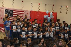 Veterans Day at Harrison Schmitt Elementary 110918
