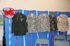 Veterans Day at Harrison Schmitt Elementary 110918