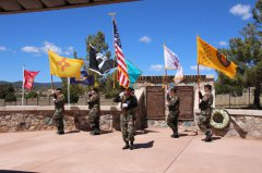 Vietnam veterans honored by Fort Bayard National Cemetery 032818