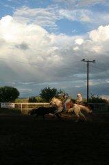 Frank Kenney team roping 081519