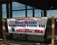 High Desert Sportsmen Club Gun Show