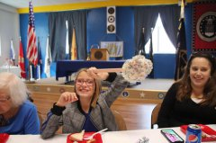 Woman celebrates 105th birthday