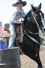 Luna County Fair Junior Rodeo 100619  part 3