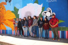 MRAC Youth Mural Project mural dedication 102619