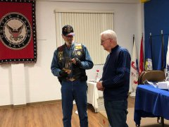 American Legion Post 18 honors Ray Davis 011119