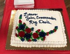 American Legion Post 18 honors Ray Davis 011119