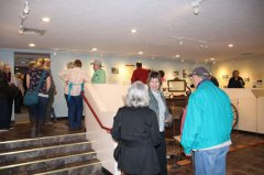 Ranching Exhibit at Silver City Museum opening 020119