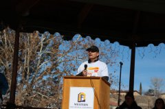Copper Country Senior Olympics starts Torch Run in Silver City 011219